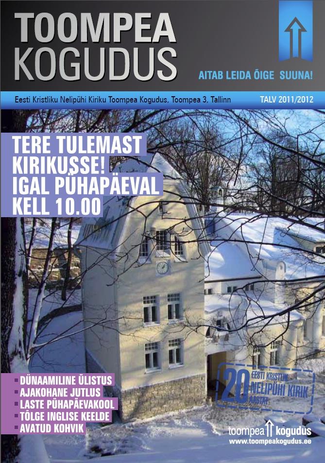 EKNK Toompea koguduse bülletään_talv 2011
